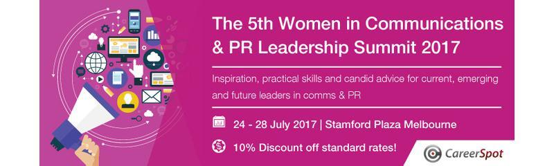 The 5th Women in Communications & PR Leadership Summit 2017