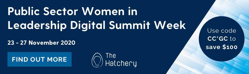 Public Sector Women in Leadership Digital Summit Week 2020