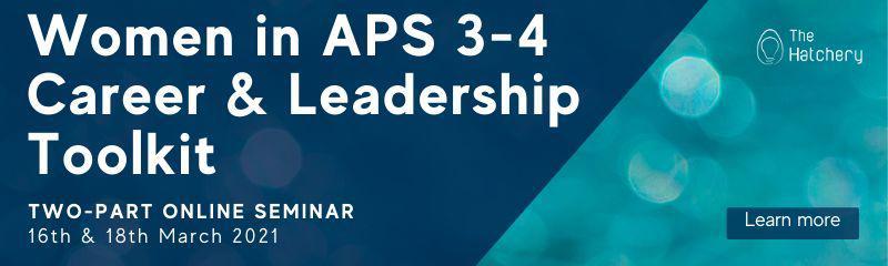 Women in APS 3-4 Career & Leadership Toolkit