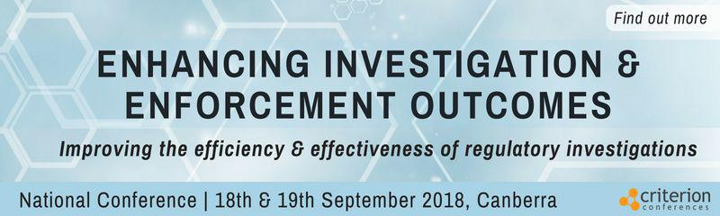 Enhancing Investigation & Enforcement Outcomes