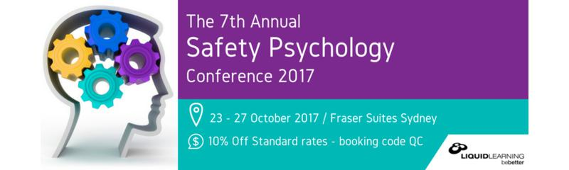 The 7th Safety Psychology Conference 2017