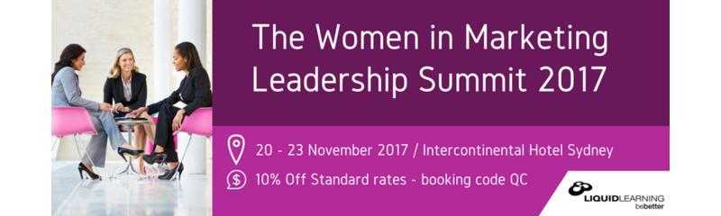 The Women in Marketing Leadership Summit 2017